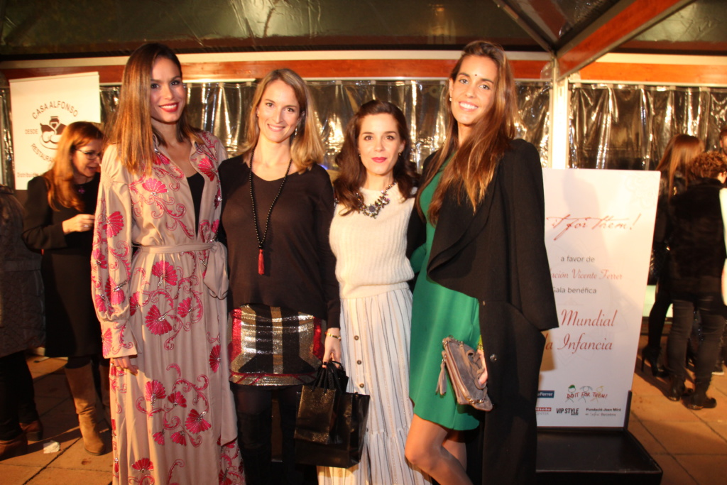 Evento solidario con influencers de Barcelona